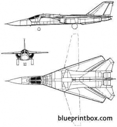 general dynamics f 111 model airplane plan
