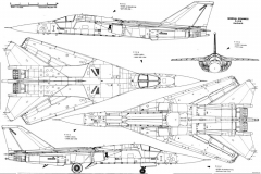 general dynamics f 111 3 model airplane plan