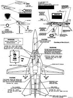 general dynamics f 111 7 model airplane plan