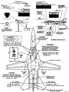 general dynamics f 111 7 model airplane plan