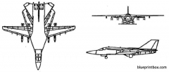 general dynamics f 111 aardvark model airplane plan