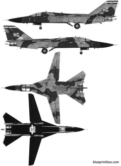 general dynamics f 111a aardvark model airplane plan