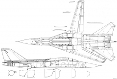 general dynamics f 111e model airplane plan