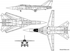 general dynamics f 111e aardvark 2 model airplane plan