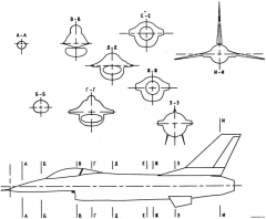 general dynamics f 16 fighting falcon 2 model airplane plan