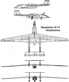geophysica 3v model airplane plan