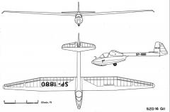 gil 3v model airplane plan