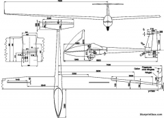 glaser dirks dg 300 model airplane plan