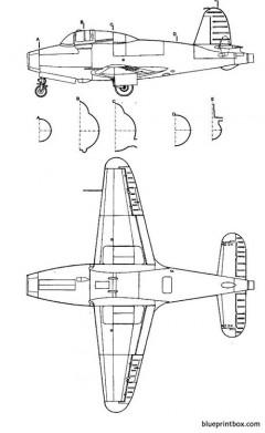 gloster g 40 2 model airplane plan