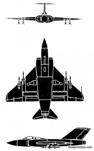 gloster javelin 2 model airplane plan