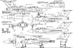 gloster javelin 2 2 model airplane plan
