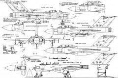 gloster javelin 2 2 model airplane plan