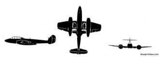 gloster meteor mk 7 model airplane plan