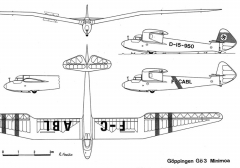 go3 3v model airplane plan
