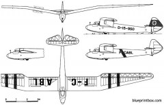 goppingen go 3 minimoa model airplane plan