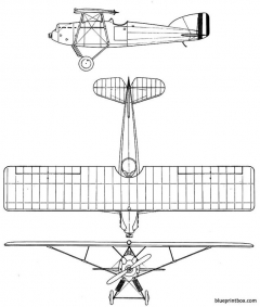 gourdou leseurre lgl 341 model airplane plan