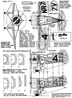 granville brothersgeebee model z model airplane plan