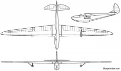 gribovskyg 12 model airplane plan