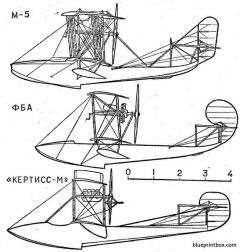 grigorovich m 5 01 model airplane plan