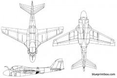 grumman a 6 intruder model airplane plan