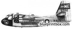 grumman c 1a trader model airplane plan