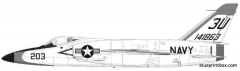 grumman f11f 1 tiger model airplane plan