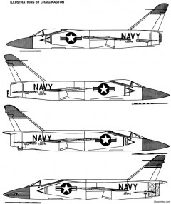 grumman f11f 1f tiger model airplane plan