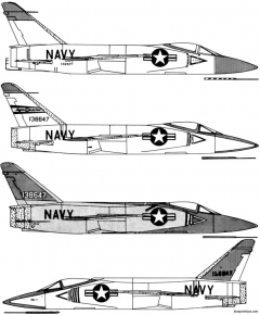 grumman f11f 1f tiger 4 model airplane plan