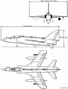 grumman f11f 1f tiger 6 model airplane plan