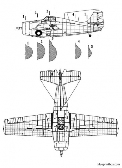 grumman f4f wildcat model airplane plan