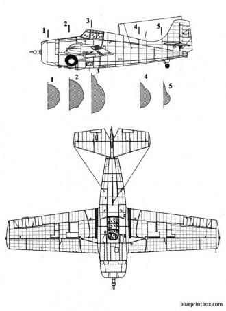 grumman f4f wildcat model airplane plan