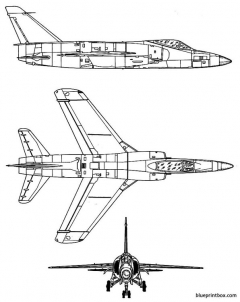 grumman f 11f tiger model airplane plan