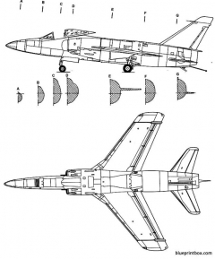 grumman f 11f tiger 2 model airplane plan