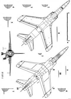 grumman f 11f tiger 2 2 model airplane plan