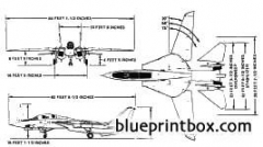 grumman f 14 tomcat model airplane plan