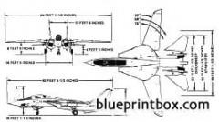 grumman f 14 tomcat model airplane plan