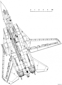 grumman f 14 tomcat 11 model airplane plan
