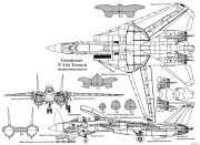 grumman f 14a tomcat 2 2 model airplane plan