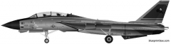 grumman f 14d super tomcat model airplane plan