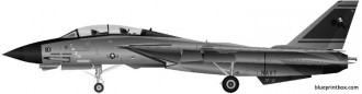 grumman f 14d super tomcat model airplane plan
