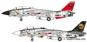 grumman f 14d super tomcat 2 model airplane plan