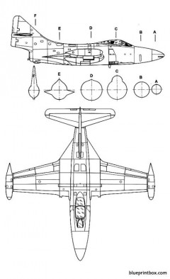 grumman f 9f panther 2 model airplane plan