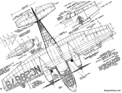 grumman g 44 widgeon model airplane plan