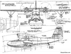 grumman g 44 widgeon 2 model airplane plan