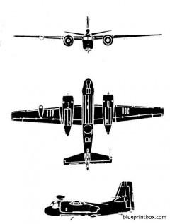 grumman s2f 1 tracker model airplane plan