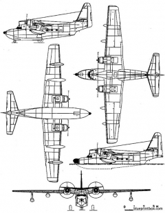 grumman sh 16 albatros model airplane plan