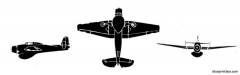 grumman tbm 3w avenger model airplane plan