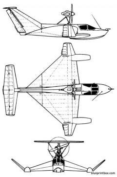 grunin eska effet desol model airplane plan
