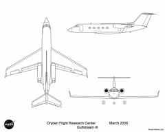 gulfstream iii model airplane plan
