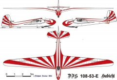 habicht doret model airplane plan
